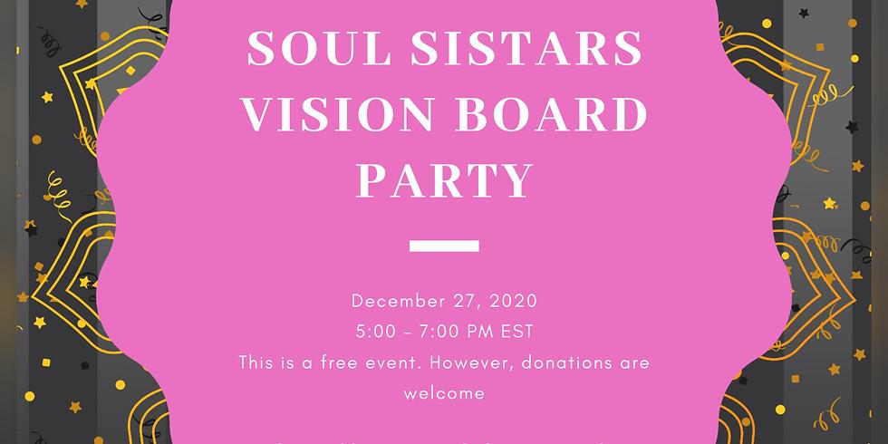 Soul Sistars Vision Board Party