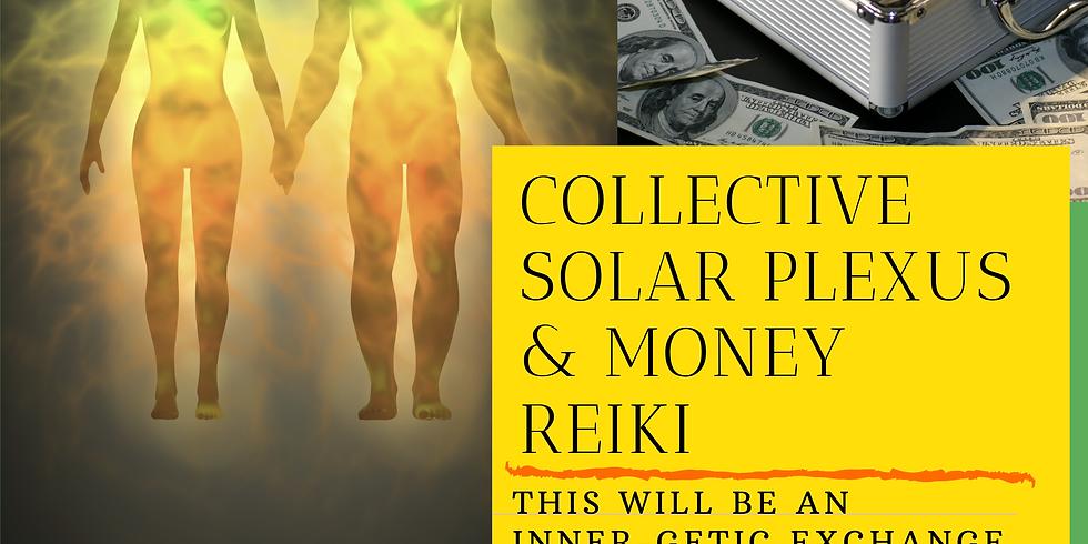 Collective Solar Plexus & Money Reiki