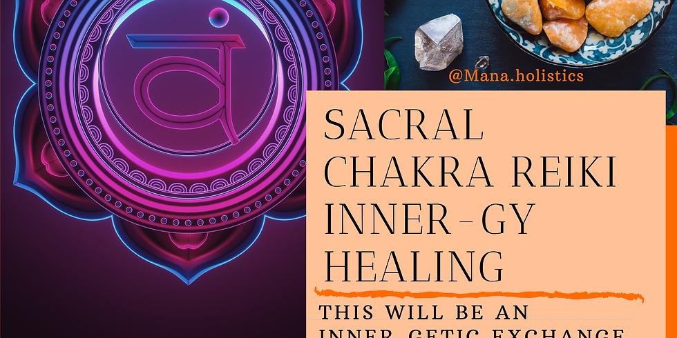 Collective Sacral Chakra Reiki Healing