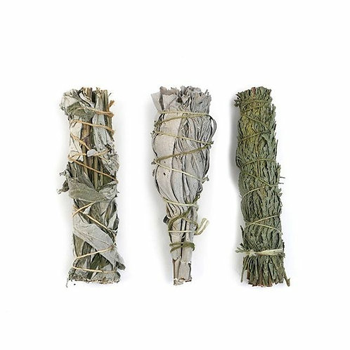 Sage Bundle - (3) Smudge Sticks