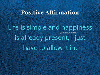 Affirming Positivity ONLY
