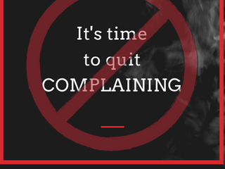 Complaining Is Actually Unhealthy