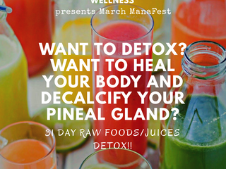 March ManaFest 31 Day Detox Challenge