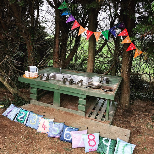 Washing Up | Our Forest School | Potters House | Yapton Nursery