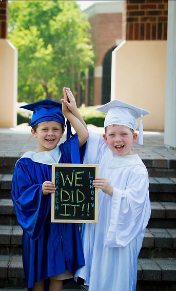 We graduated | Our Forest School | Potters House | Yapton Nursery
