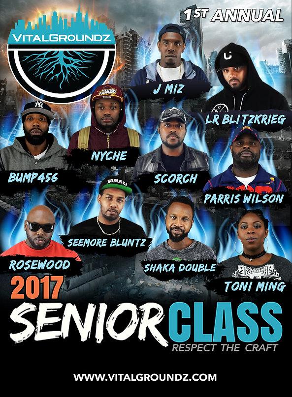 Senior Class 2017 Cover Art