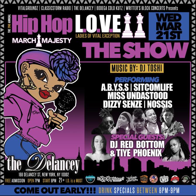 2nd Annual Hip Hop L.O.V.E Showcase
