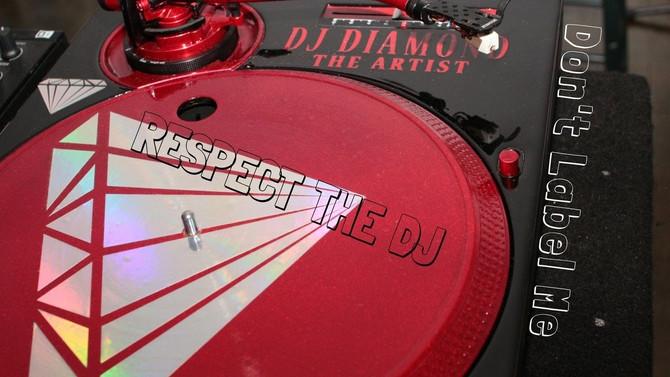 New Muzic: RESPECT THE DJ - DJ DIAMOND THE ARTIST