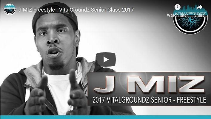 JMiz Freestyle - Senior Class 2017