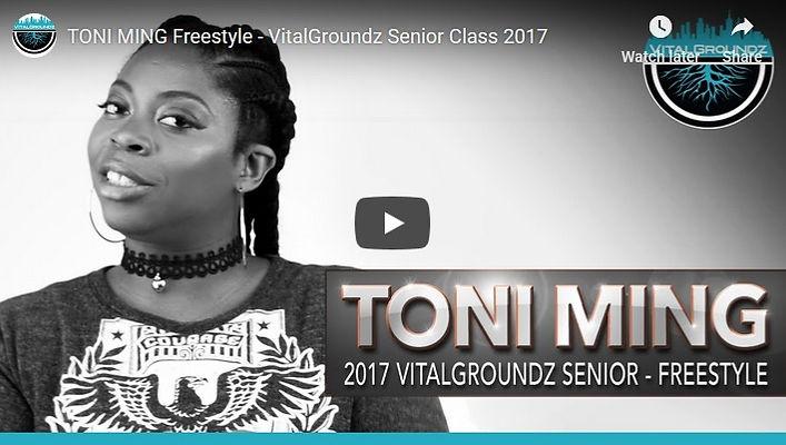 Toni Ming Freestyle - Senior Class2017