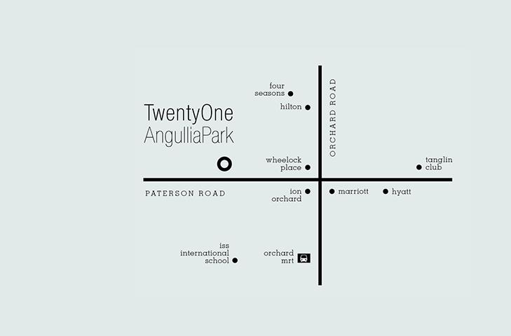 TwentyOne Angullia Park | Location