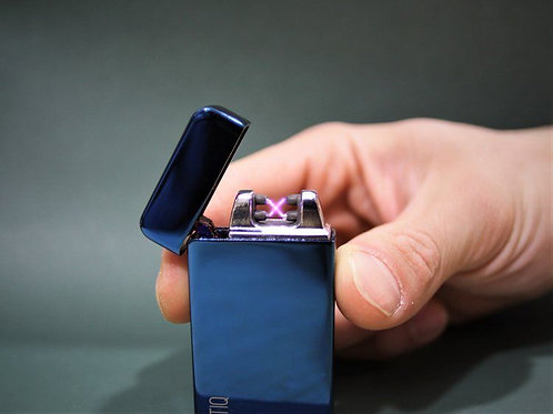 Electric Blue Dual Arc Lighter