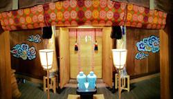 玉川神社 壁画
