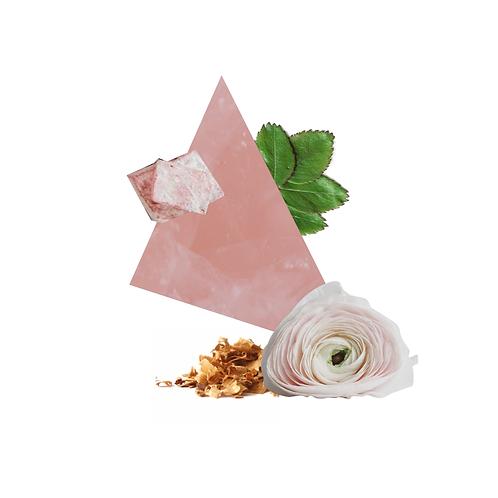 Rose Quartz Scented Candle