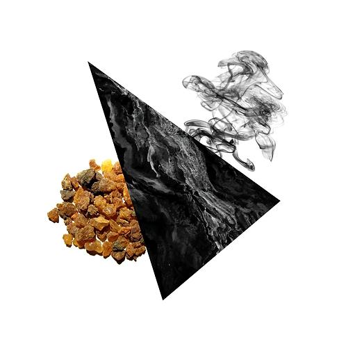 Black Tourmaline - Frankincense and Myrrh