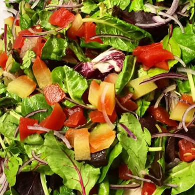 Pickled Watermelon Rind Salad