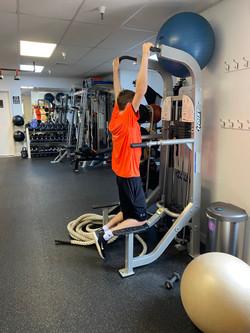 Client workout