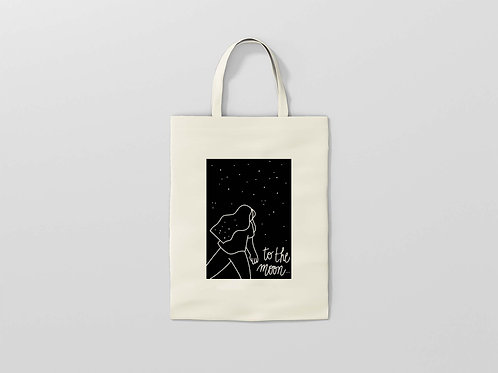 Tot bag to the moon and back