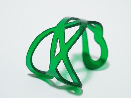 Doodle Cuff II: Green