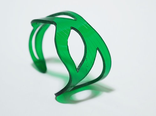 Doodle Cuff I: Green