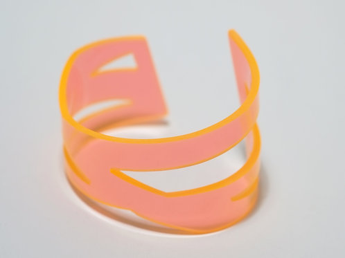 Doodle Cuff I: Orange