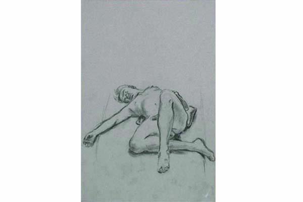 Man Laying I