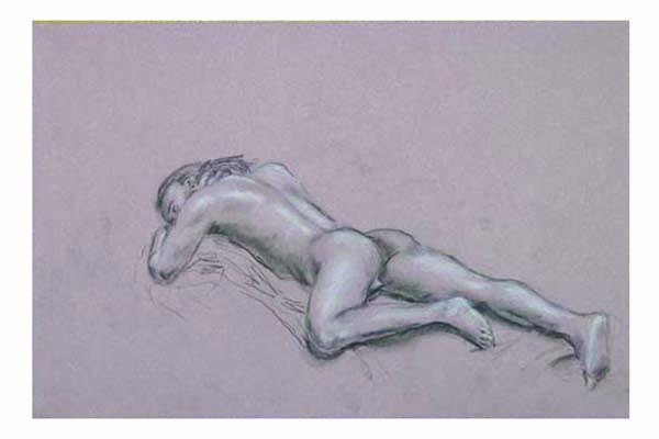 Man Laying II