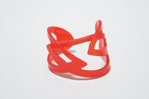 Doodle Cuff I: Red