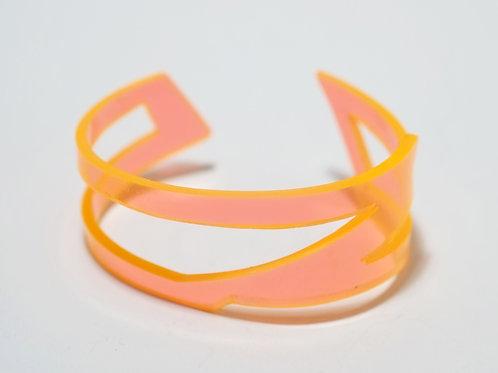 Doodle Cuff V: Orange
