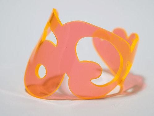 Doodle Cuff III: Orange