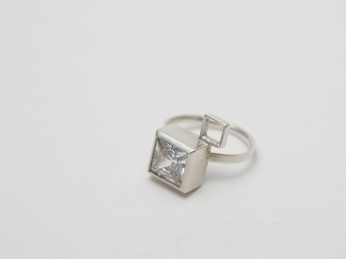 Square Set Ring