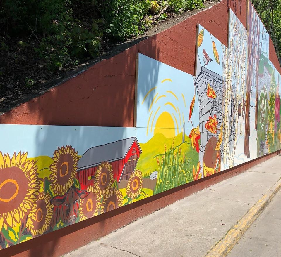 Summer Street Mural