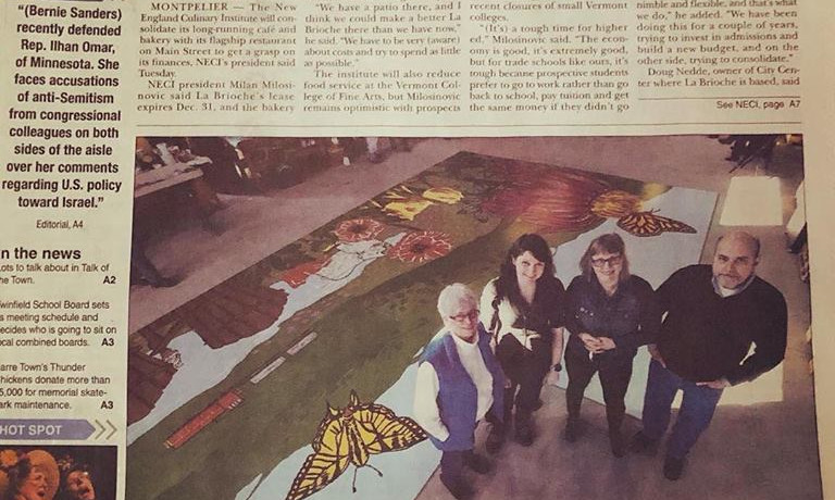 Times Argus Photo from Summer Street Mural