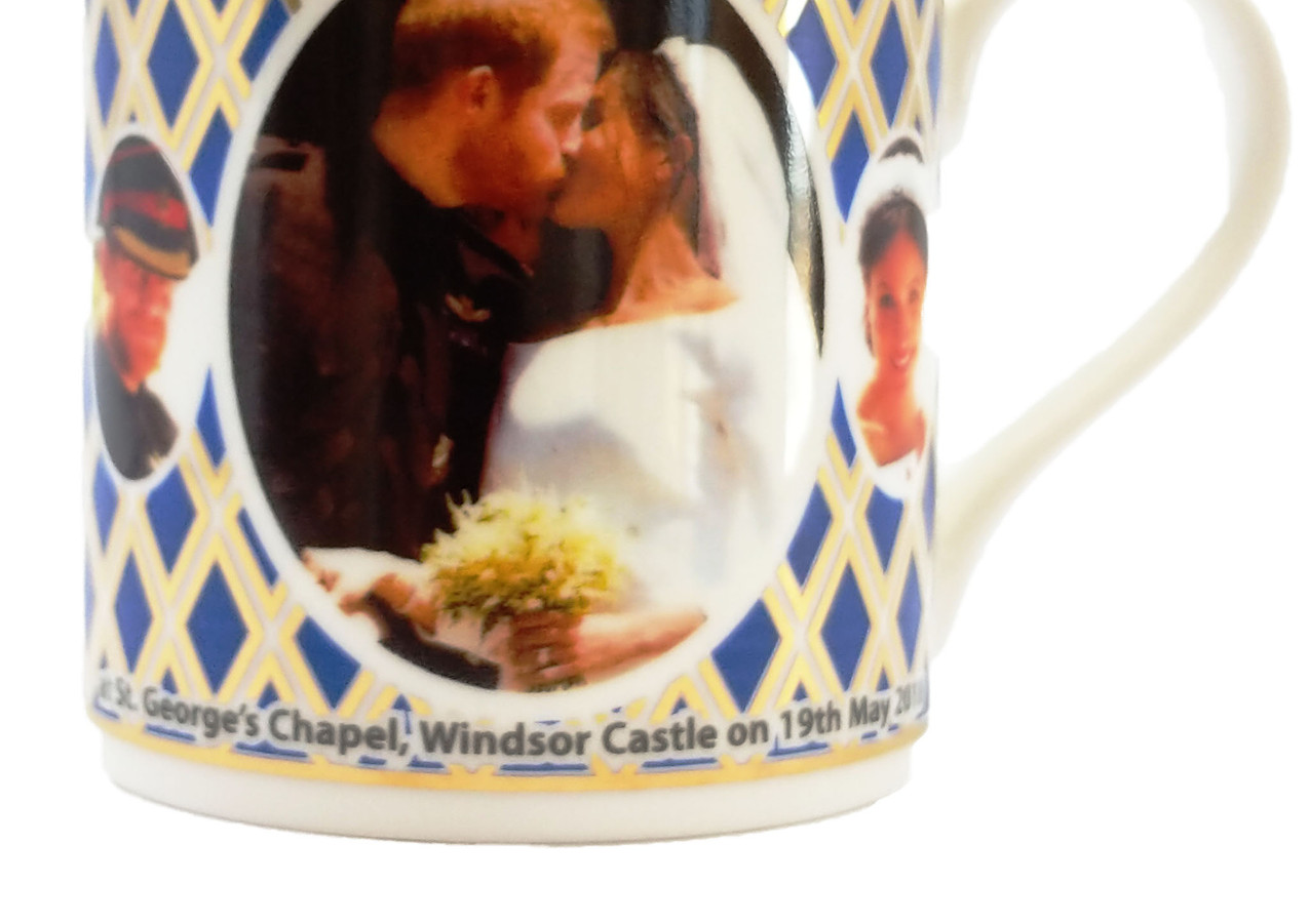 Harry and Meghan Wedding Mug