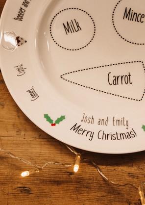 Christmas plates !
