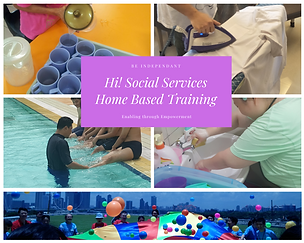 Hi! Social Services Home Based Training.