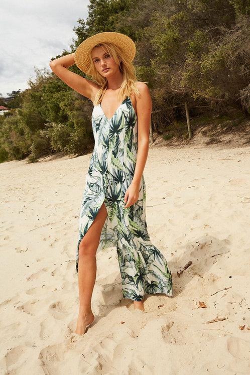Palm Fringed Maxi Dress by Somedays Lovin