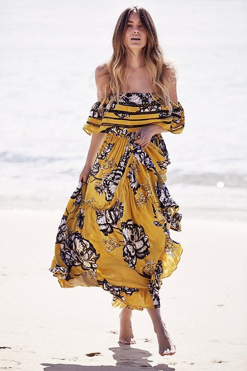 bohemian summer maxi dress uk