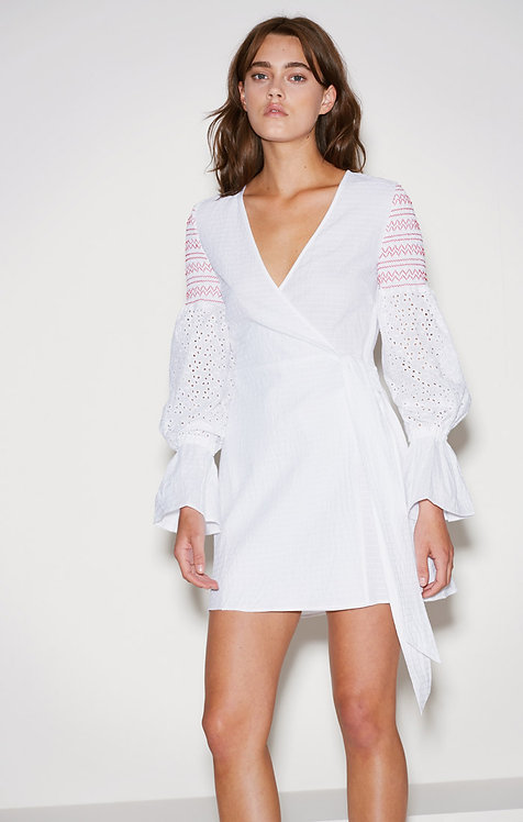 Riverine Wrap Dress by The Fifth Label