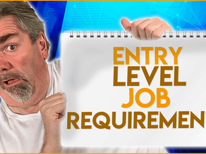 Entry Level Job Requirements for Learners and Inexperienced Programmers