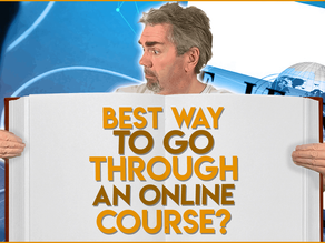 How Should You Go Through an Online Programming Course?