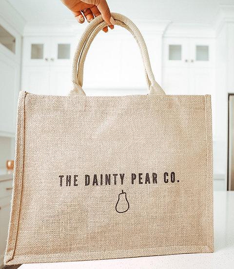 TDP Co. Reusable Jute Bag