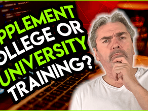 Should I Supplement My College or University Training with Other Programming Resources?