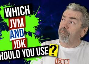 Choosing The Right JDK Vendor and JVM