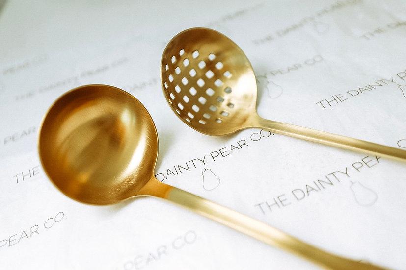 Slotted Spoon + Ladle Set