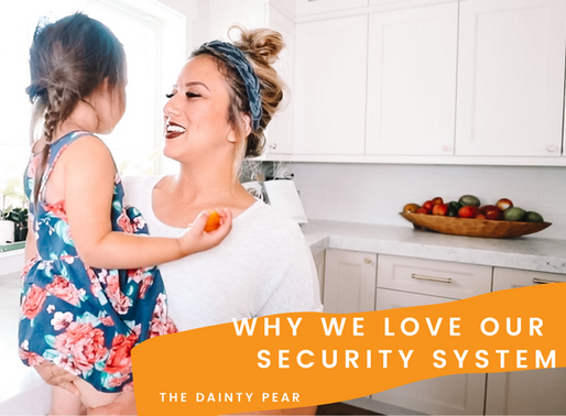 Why We Love Our Security System!