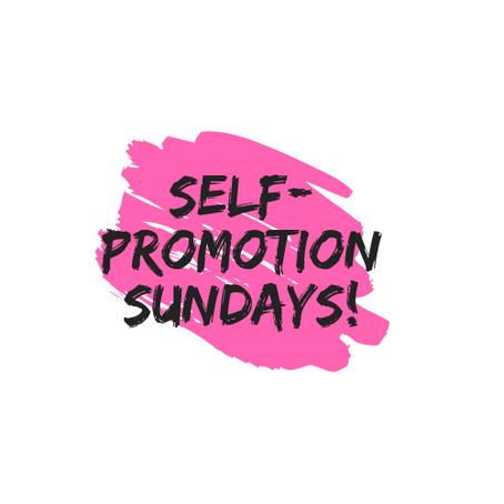 Self-Promotion Sundays