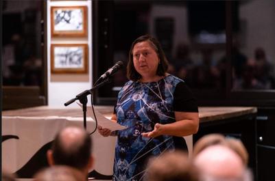 Alicia Parmiter addresses 2019 AGM