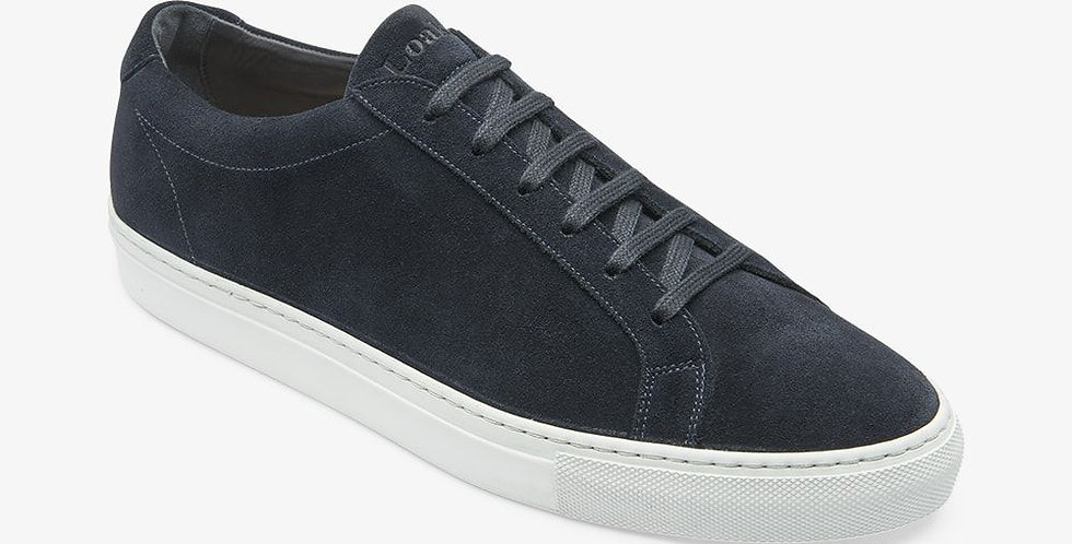 Navy Suede Sprint - Loake