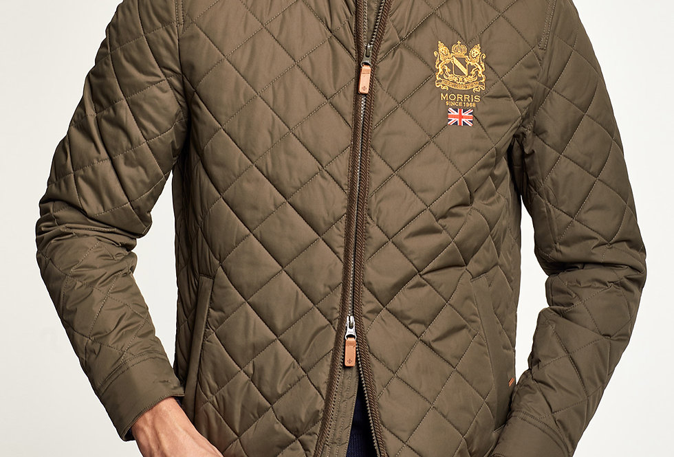 Trenton Quilted Jacket - Morris Stockholm